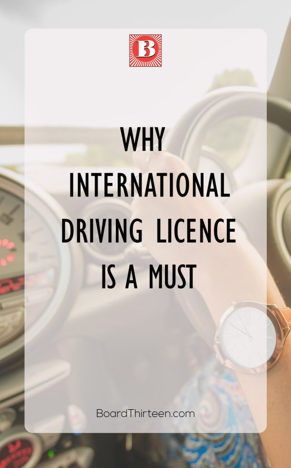 International driving licence is not only a good idea it is necessary if you are planning on doing some driving in a foreign country.