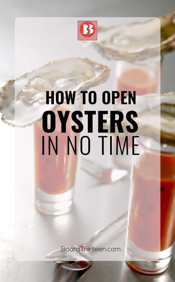 How to open oysters in no time