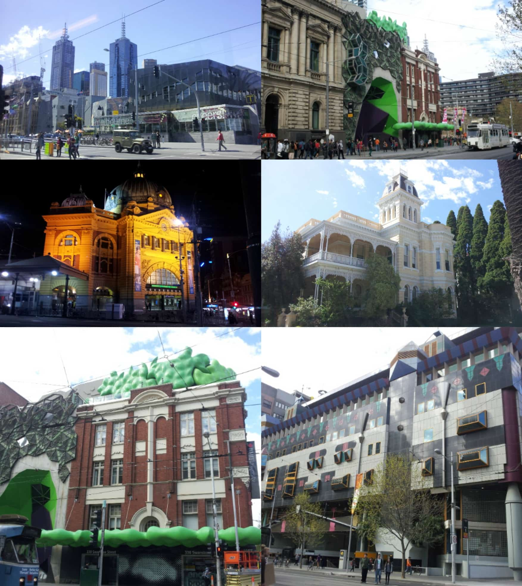 Melbourne ArchitectureCollage