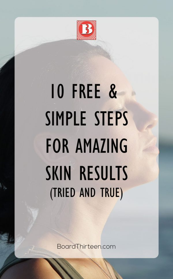Want to have a glowing skin no matter where you go? Check these tips on how to get one for free or almost free. Pin it for later!