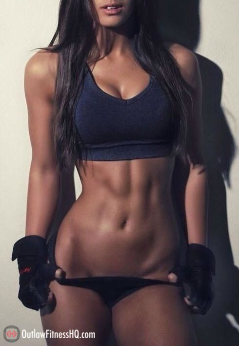 toned body