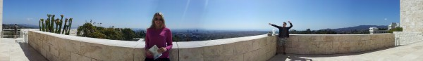 Panorama Getty Center