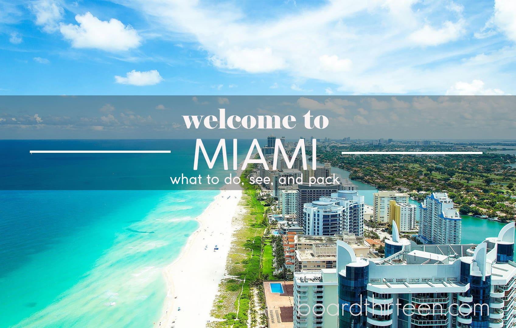 Miami travel tips