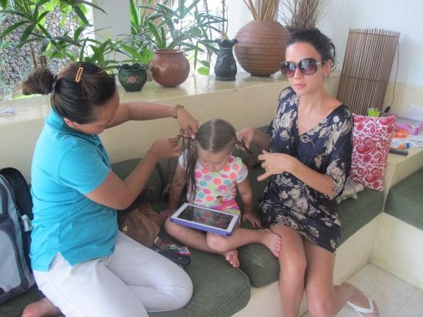 Bali nanny
