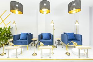 commercial projects Nail Salon Interior design